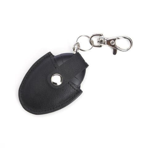 ROYCE Bluetooth-based Key Finder with Last Known Map Location for Locating Keys, in Genuine Leather Case
