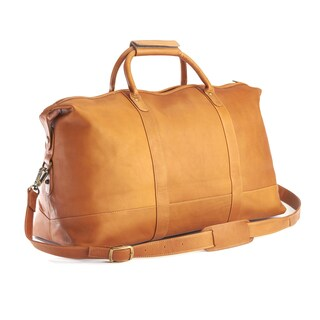 ROYCE Genuine Colombian Leather Handcrafted Duffel Bag