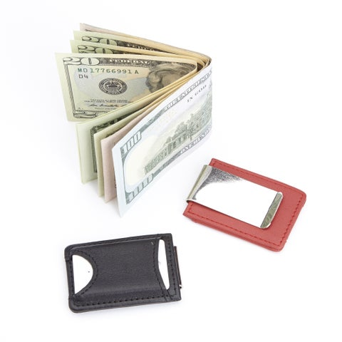 Royce Leather Wallet Tracker and Money Clip
