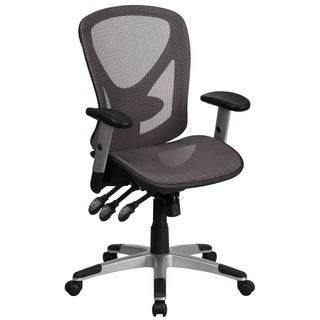 Mid-Back Mesh Executive Swivel Office Chair with Back Angle and Height Adjustment