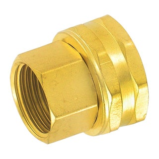 Gilmour 7FPS7FH 3/4-inch X 3/4-inch Brass Connector