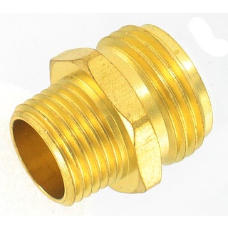 Gilmour 7MH7MH 3/4-inch x 3/4-inch Brass Connectors