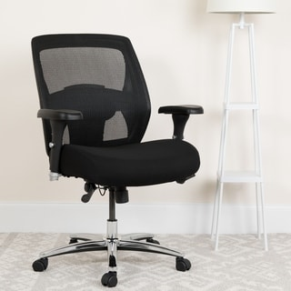 HERCULES Series 24/7 Multi-Shift, Big & Tall 500 lb. Capacity Mesh Multi-Functional Executive Swivel Chair with Ratchet Back