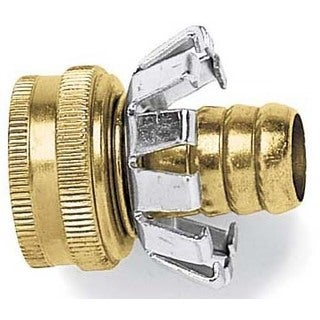 Gilmour C12F 1/2-inch Female Brass Hose Coupler