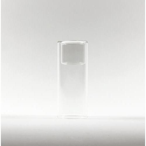 6-inch Clear Cylinder Raised Votive Candle Holder
