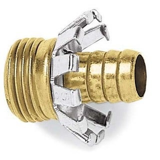 Gilmour C12M 1/2-inch Male Brass Hose Coupler