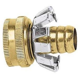 Gilmour C58F 5/8-inch Female Brass Hose Coupler