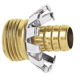 Gilmour C58M 5/8-inch Male Brass Hose Coupler