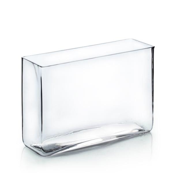 Shop 3 Inch X 10 Inch X 7 Inch Clear Rectangular Vase Free