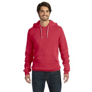 Challenger Men's Big and Tall Eco-Fleece Eco True Red Pullover Hoodie