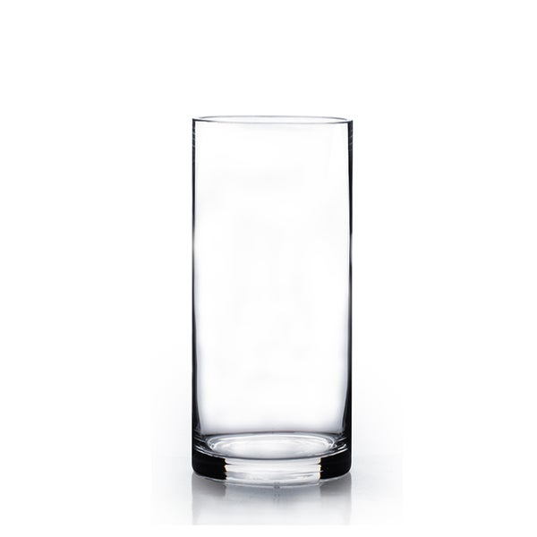 Shop 4 Inch X 12 Inch Glass Cylinder Vase Set Of 12 Free