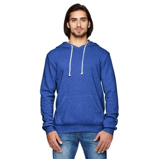 Challenger Men's Big and Tall Eco-Fleece Ec Tr Pacific Blue Pullover Hoodie