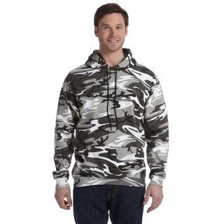 Camouflauge Men's Big and Tall Urban Woodland Pullover Hooded Sweatshirt