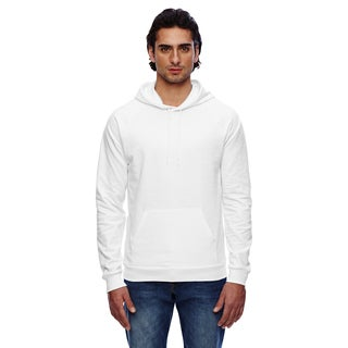 California Men's Big and Tall White Fleece Pullover Hoodie