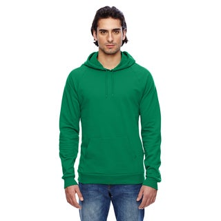 California Men's Big and Tall Kelly Green Fleece Pullover Hoodie