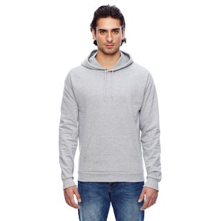 California Men's Big and Tall Heather Grey Fleece Pullover Hoodie