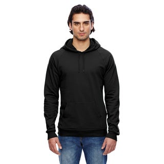 California Men's Big and Tall Black Fleece Pullover Hoodie