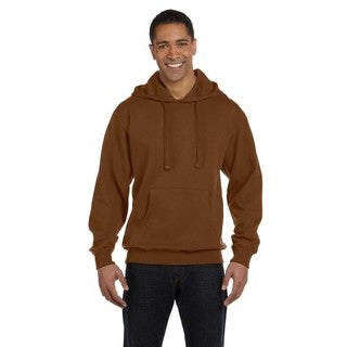 Men's Big and Tall Organic/Recycled Pullover Legacy Brown Hood