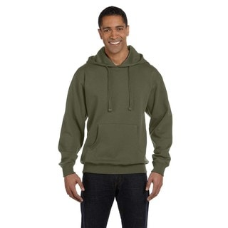 Men's Big and Tall Organic/Recycled Pullover Jungle Hood