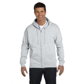 Men's Big and Tall Comfortblend Ecosmart 50/50 Full-Zip Ash Hood