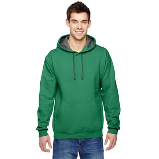 Men's Big and Tall Sofspun Clover Hooded Sweatshirt