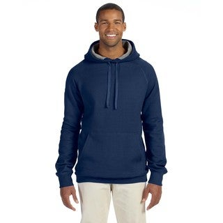 Men's Big and Tall Nano Pullover Vintage Navy Hood