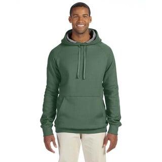 Men's Big and Tall Nano Pullover Vintage Green Hood