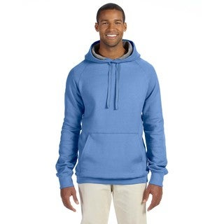 Men's Big and Tall Nano Pullover Vintage Blue Hood