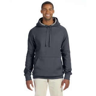 Men's Big and Tall Nano Pullover Charcoal Heather Hood