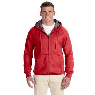 Men's Big and Tall Nano Full-Zip Vintage Red Hood