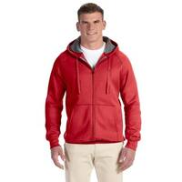 Men's Big and Tall Nano Full-Zip Vintage Red Hood