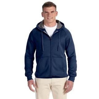 Men's Big and Tall Nano Full-Zip Vintage Navy Hood