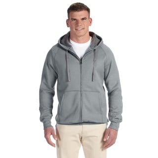 Men's Big and Tall Nano Full-Zip Vintage Grey Hood