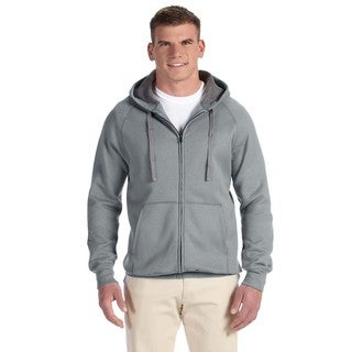 Men's Big and Tall Nano Full-Zip Vintage Grey Hood (2 options available)