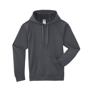 Men's Big and Tall Sport Tech Fleece Pullover Stealth Hood