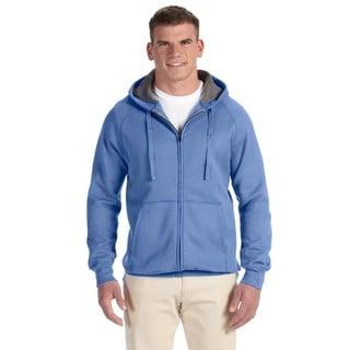 Men's Big and Tall Nano Full-Zip Vintage Blue Hood