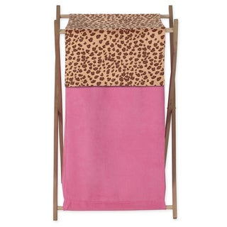 Sweet Jojo Designs Cheetah Girl Collection Laundry Hamper