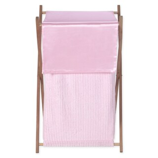 Sweet Jojo Designs Pink Chenille Collection Laundry Hamper