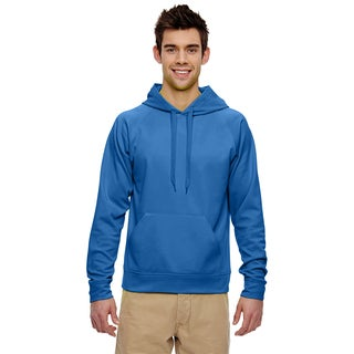 Men's Big and Tall Sport Tech Fleece Pullover Royal Hood