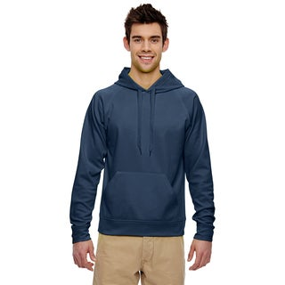 Men's Big and Tall Sport Tech Fleece Pullover J Navy Hood