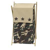 Sweet Jojo Designs Green Camo Collection Laundry Hamper