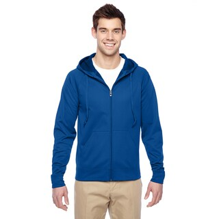 Men's Big and Tall Sport Tech Fleece Full-Zip Royal Hood