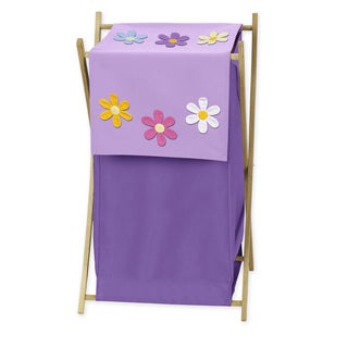 Sweet Jojo Designs Danielle's Daisies Collection Laundry Hamper (Option: Green)