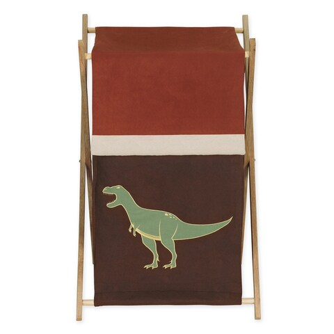 Sweet Jojo Designs Dinosaur Land Collection Laundry Hamper