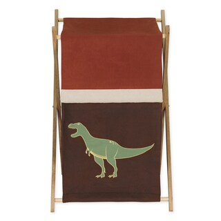 Sweet Jojo Designs Dinosaur Land Collection Laundry Hamper