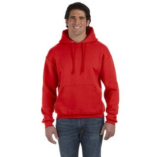 Men's Big and Tall Supercotton 70/30 Pullover True Red Hood