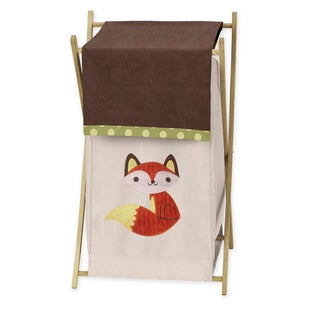 Sweet Jojo Designs Forest Friends Collection Fabric Laundry Hamper