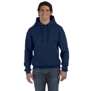 Men's Big and Tall Supercotton 70/30 Pullover J Navy Hood