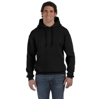 Men's Big and Tall Supercotton 70/30 Pullover Black Hood