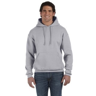 Men's Big and Tall Supercotton 70/30 Pullover Athletic Heather Hood